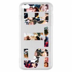 Чехол для iPhone 7 Plus BTS collage
