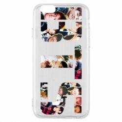 Чехол для iPhone 6/6S BTS collage