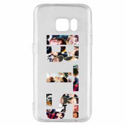 Чехол для Samsung S7 BTS collage
