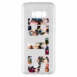 Чехол для Samsung S8+ BTS collage