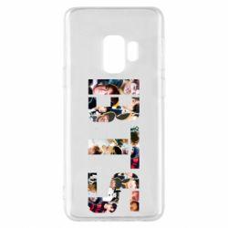 Чехол для Samsung S9 BTS collage
