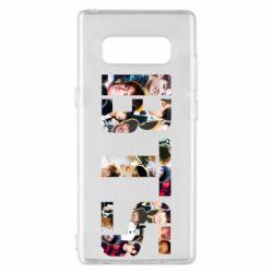 Чехол для Samsung Note 8 BTS collage