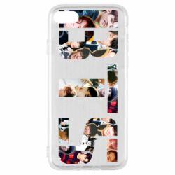 Чехол для iPhone 8 BTS collage