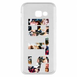 Чехол для Samsung A5 2017 BTS collage