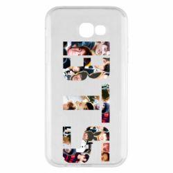 Чехол для Samsung A7 2017 BTS collage