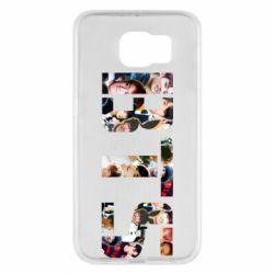 Чехол для Samsung S6 BTS collage