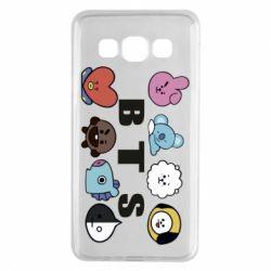 Чохол для Samsung A3 2015 Bts emoji