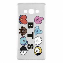 Чохол для Samsung A7 2015 Bts emoji