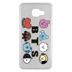 Чохол для Samsung A7 2016 Bts emoji