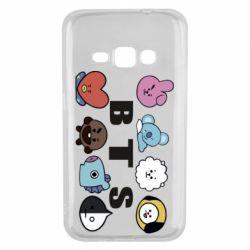 Чохол для Samsung J1 2016 Bts emoji