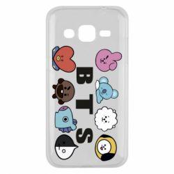 Чохол для Samsung J2 2015 Bts emoji