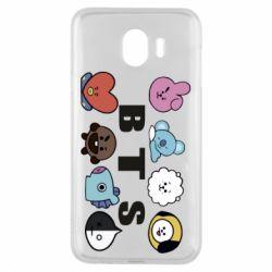 Чохол для Samsung J4 Bts emoji