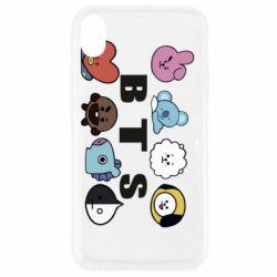 Чохол для iPhone XR Bts emoji