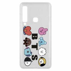 Чохол для Samsung A9 2018 Bts emoji