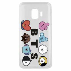 Чохол для Samsung J2 Core Bts emoji