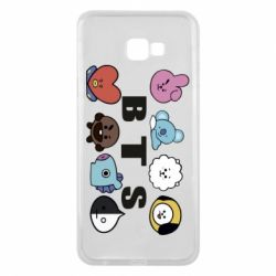 Чохол для Samsung J4 Plus 2018 Bts emoji