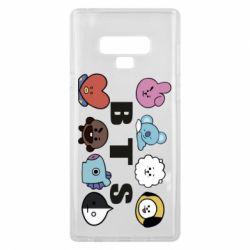 Чохол для Samsung Note 9 Bts emoji