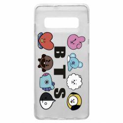 Чохол для Samsung S10+ Bts emoji