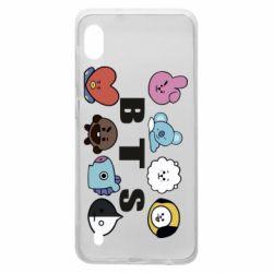 Чохол для Samsung A10 Bts emoji