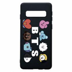 Чохол для Samsung S10 Bts emoji
