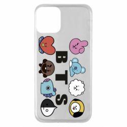Чохол для iPhone 11 Bts emoji