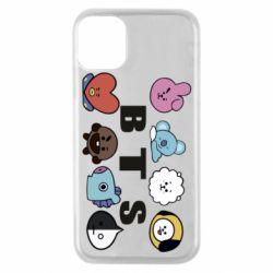 Чохол для iPhone 11 Pro Bts emoji
