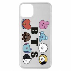 Чохол для iPhone 11 Pro Max Bts emoji