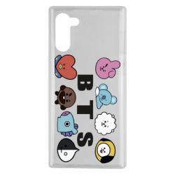 Чохол для Samsung Note 10 Bts emoji