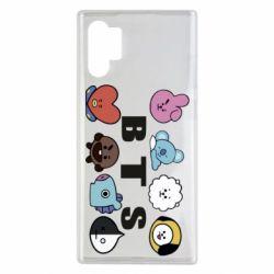 Чохол для Samsung Note 10 Plus Bts emoji
