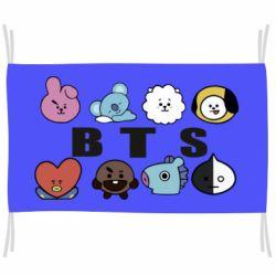 Прапор Bts emoji