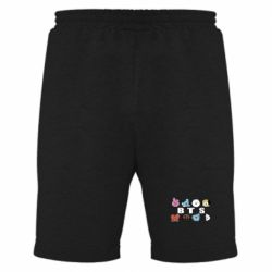 Чоловічі шорти Bts emoji