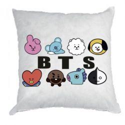 Подушка Bts emoji