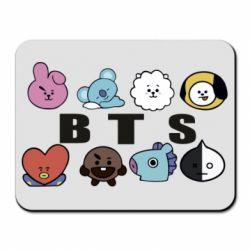 Килимок для миші Bts emoji