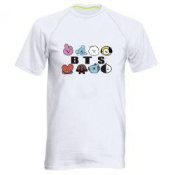 Чоловіча спортивна футболка Bts emoji