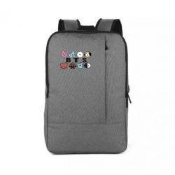 Рюкзак для ноутбука Bts emoji