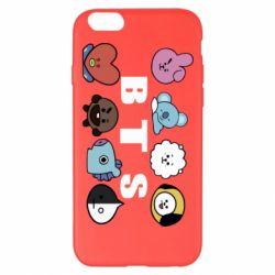 Чохол для iPhone 6 Plus/6S Plus Bts emoji
