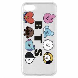 Чохол для iPhone 7 Bts emoji