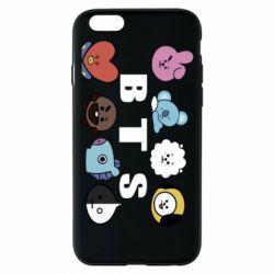 Чохол для iPhone 6/6S Bts emoji