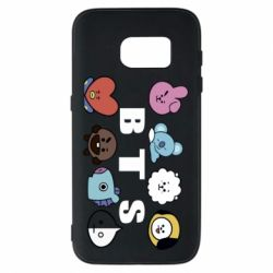 Чохол для Samsung S7 Bts emoji