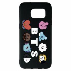 Чохол для Samsung S7 EDGE Bts emoji