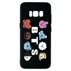 Чохол для Samsung S8 Bts emoji