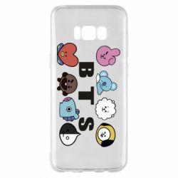 Чохол для Samsung S8+ Bts emoji