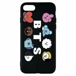 Чохол для iPhone 8 Bts emoji