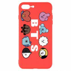 Чохол для iPhone 8 Plus Bts emoji