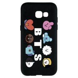 Чохол для Samsung A5 2017 Bts emoji