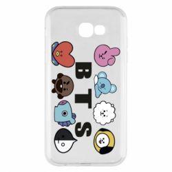 Чохол для Samsung A7 2017 Bts emoji