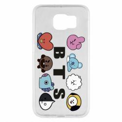 Чохол для Samsung S6 Bts emoji