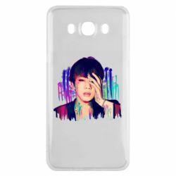 Чехол для Samsung J7 2016 Bts Jin