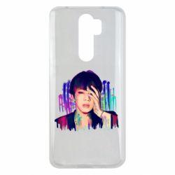 Чехол для Xiaomi Redmi Note 8 Pro Bts Jin