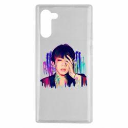 Чехол для Samsung Note 10 Bts Jin